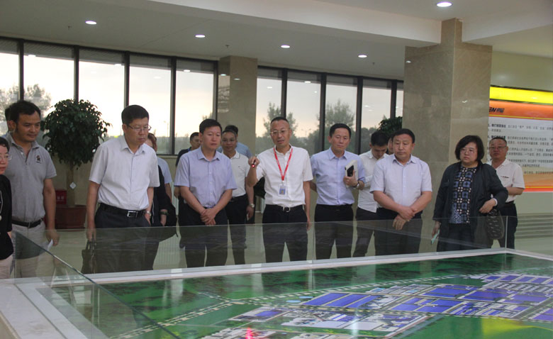 The deputy mayor in Chifeng, Wang Xiaodong, visited the Eppen for investigation.